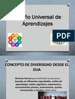 Diseño Universal de Los Aprendizajes
