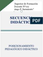 MODELO DE SECUENCIA DIDÁCTICA  2019 - Educación Primaria