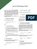 Ecuación de Schrödinger-Pauli