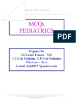 Cross Mcqs Pediatrics