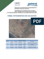 Panel Fotográfico de Calicatas
