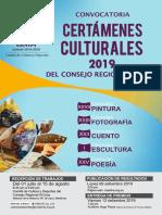 Certamenes culturales