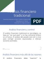 Análisis financiero tradicional