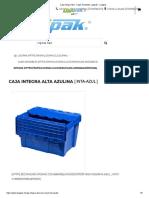 Caja Integra Alta - Cajas Anidables Logipak - Logipak