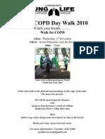 COPD Walk 2010 - Canberra