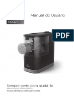 Manual Maquina de Macarrao Wallita RI2335 e RI2371