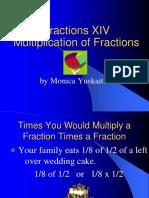 Fractions Multiplying