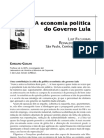 A economia política de Lula