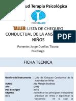 1. PPT Manual Lista de Chequeo Conductual de La Ansiedad en Ninos Ida Alarcon