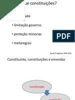 Politica iv - aula 13 - democraciahoje constituições 2018