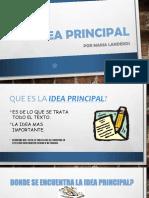 Idea Principal