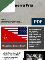 Guerra Fria - História