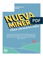 Nueva Minería para un Nuevo Perú
