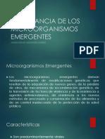 Organismos Emegentes y Campylobacter