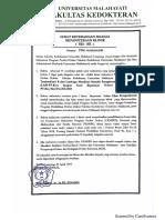 Dokumen Nilai Transkip S.ked