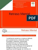 RETRASO MENTAL DRA MORALES