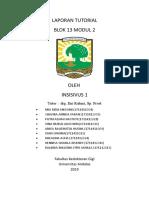 Laporan Tutorial Blok 13 Modul 2 (1) (1)