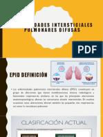 Enfermedades Intersticiales Pulmonares Difusas