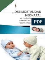 Morbimortalidad Neonatal