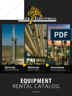 Equipment Rental Catalog