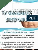 Trastornos Metabolicos Del Rn
