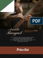 Amalio Burg Uet Guitars Prices