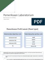 Pemeriksaan Lab, Terapi Nonfarkol Dan Farkol Hiperlipidemia