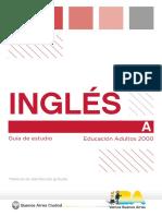 Apunte Inglés A - Adultos 2000 Programa NES