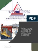 Tratamiento Quimico de Agua Para Calderos Empresa Tesquimsa
