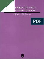 MOLTMANN J., La venida de Dios. Escatologia cristiana. Salamanca, 2004..pdf