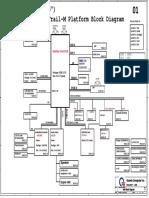 Acer Aspire E3-112 V3-112 E11 Quanta ZHK DA0ZHKMB6C0 REV C Schematic Diagram