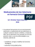 Medicamentos de Uso Veterinario en Farmacia Comunitaria
