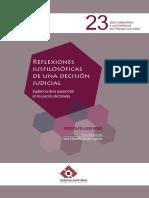 14. Reflexiones iusfilosóficas de una decisión judicial. Luis Vigo.pdf