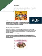 Tradiciones y Costumbres de Mexico