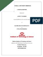 Integral abutment bridges report