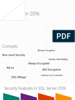 Security Enhancement in 2016 SQL Server