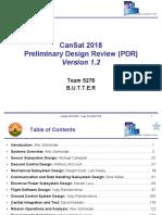 Cansat2018_5278_PDR