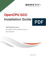 Quectel open CPU