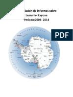 Compilacion de informes sobre Lemuria Kayona Periodo-2004-2014.pdf
