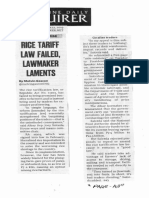 Philippine Daily Inquirer, Sept. 12, 2019, Rice tarift law failed lawmaker laments.pdf
