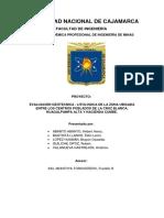 Evaluacion Geotecnica - Litologica de La Zona de Estudio
