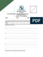 ICT JCB Worksheet 4