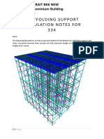 Scaffolding Support Calculation Notes for 334 (Rev.1)