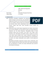 Tugas 1.1 Praktik RPP Kearsipan KD. 3.5-4.5 Hasmir Shaleh Wijaya, SE Revisi 1 Pertemuan