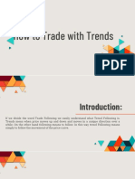 How to Trade With the Trend