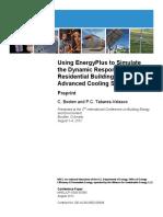 Using Energy Plus