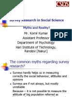 Komil Kumar Survey Research