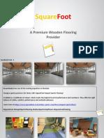 SquareFoor | A Premium Wooden Flooring Provider