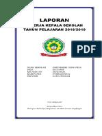 Cover Laporan Kinerja KS