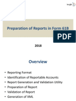 3B Preparation of Reports in Form 61B V1.3